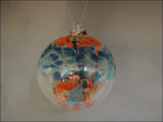Click to view detail for DB-193 Ornament Witches Ball, Grand Pismatic