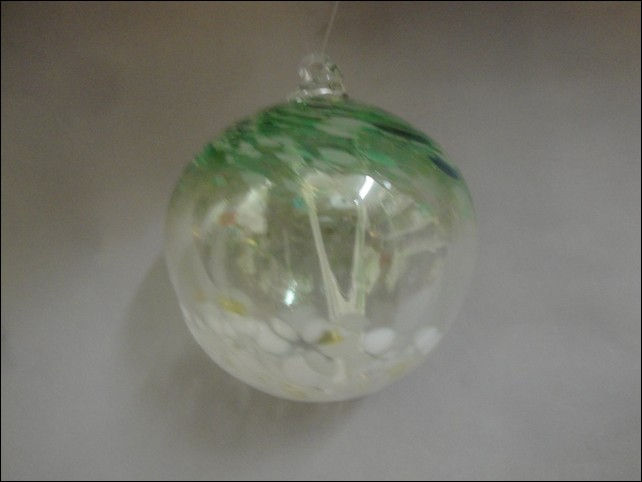 Click to view detail for DB-195 Ornament Witches Ball, Aspen