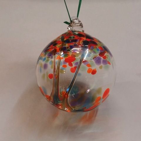 DB-311 Ornament Witchball - Party Mix at Hunter Wolff Gallery