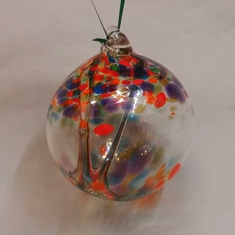Click to view detail for DB-311 Ornament Witchball - Party Mix