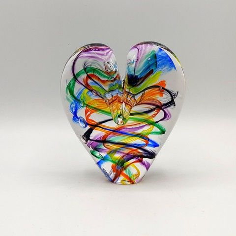 Click to view detail for DG-13 Heart - Chakra 5x4x2.5