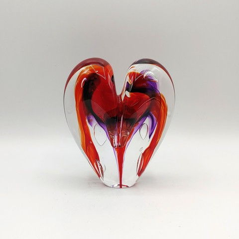 Click to view detail for DG-15 Heart - Cherry & Purple 5x4x2.5