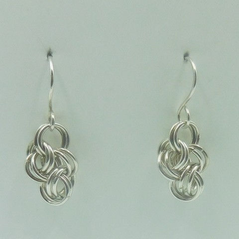 Click to view detail for DKC-956 Earrings, Double cloud cover