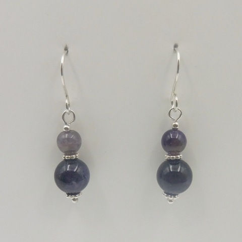 Click to view detail for DKC-960 Earrings, amethyst