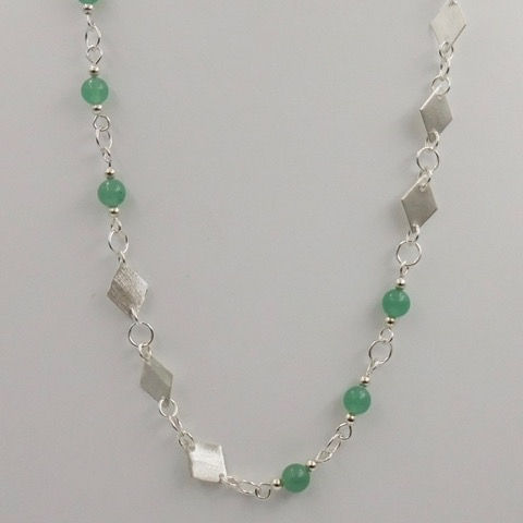 Click to view detail for DKC-899 Necklace, Aventurine