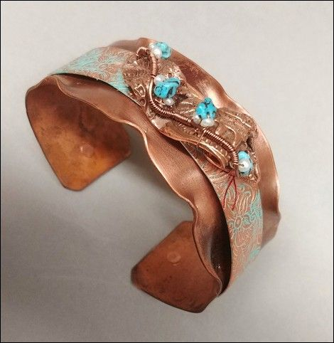 Click to view detail for DM-007 Cuff, Copper with TQ and FWP