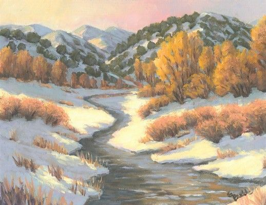 Click to view detail for Desert Snow 8x10