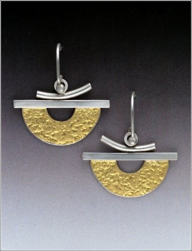 Click to view detail for MB-E237B Earrings 1 Ching No. 2