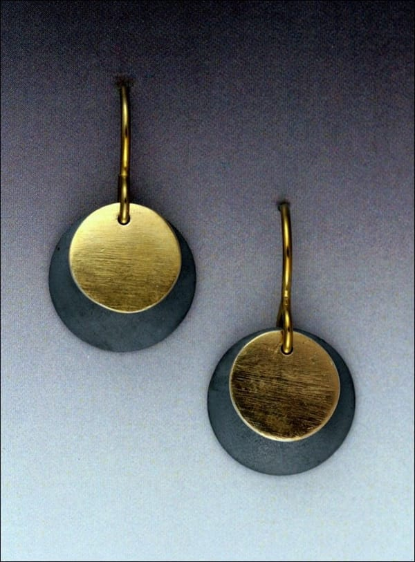 Click to view detail for MB-E328 Earrings Convergence