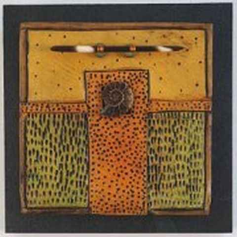 VG162 Quilted Whimsies 6x6 $185 at Hunter Wolff Gallery
