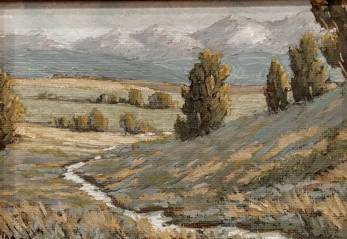 Click to view detail for East Of Durango 5x7
