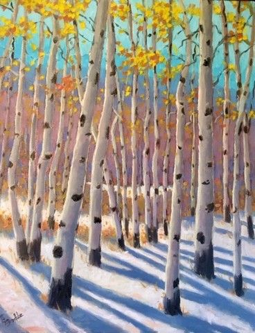 Click to view detail for First Snow 11x14