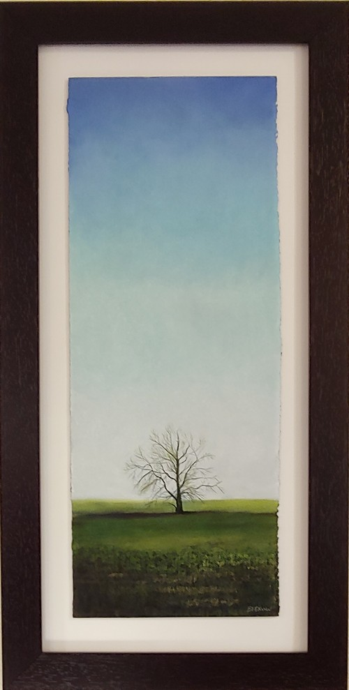 Greening Up 30x11 $2400 at Hunter Wolff Gallery