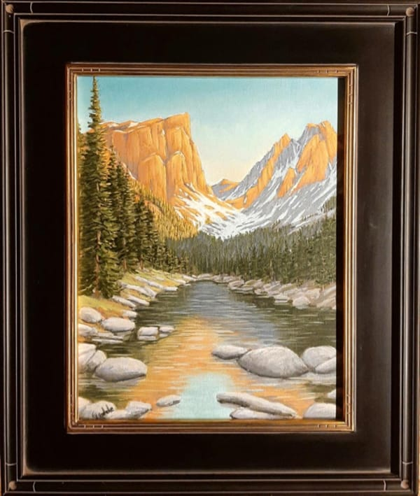 Click to view detail for Hallet's Peak 14x11. $450