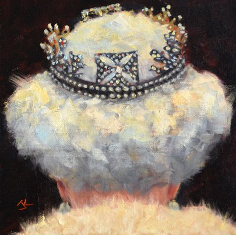 Click to view detail for Her Majesty 8x8 $300