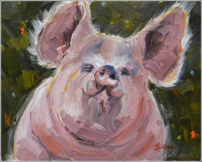 Hog Heaven at Hunter Wolff Gallery