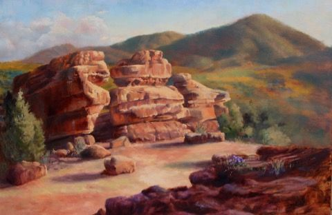 Click to view detail for Garden of the Gods Arches 24x36