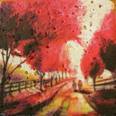 Click to view detail for JS011 Coaster A Stroll Down the Dusty Lane 4x4 $26