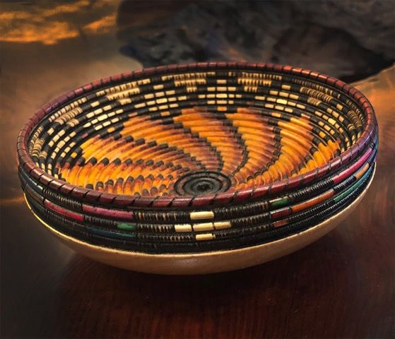 Click to view detail for KC-009 Woven/Southwestern Small Bowl