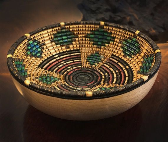 Click to view detail for KC-010 Woven/Southwestern Small Bowl