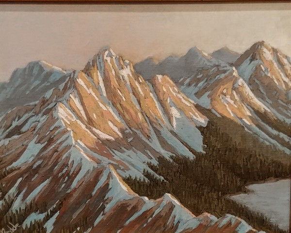 Click to view detail for Knife Edge Ridge 8x10