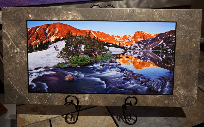 Indian Peaks Sunrise 12x24 $180 by Joseph Thomas