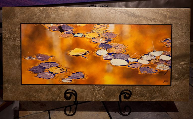 Liquid Gold 12x24 $180 at Hunter Wolff Gallery