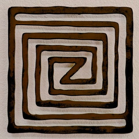 BB-033 Maze  12x12 at Hunter Wolff Gallery