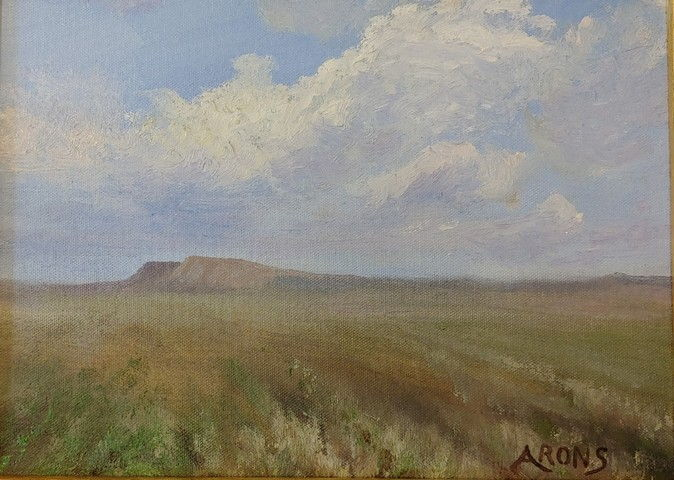 Click to view detail for Mesa Clouds 9x12