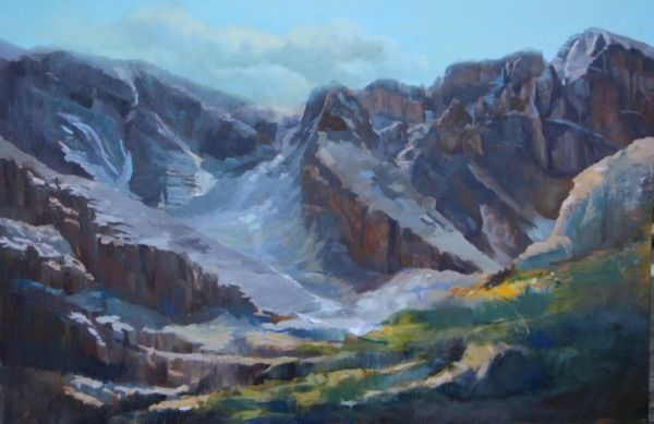 Click to view detail for Mountain Majesty 24x36