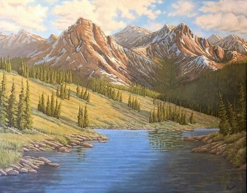 Click to view detail for Molas Lake Inlet 22x28