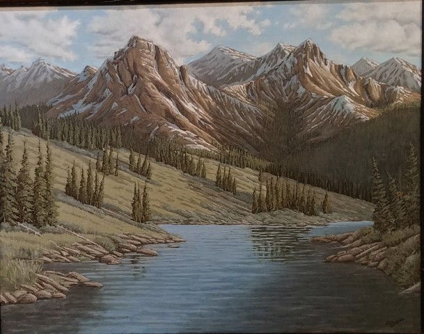 Click to view detail for Molas Lake Vista 22x28