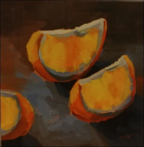 Click to view detail for Orange Slices 6x6