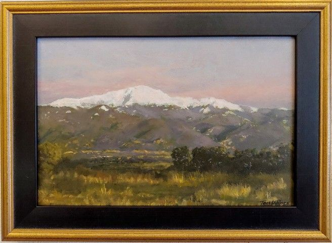 Click to view detail for Pikes Peak Sunrise 8x12