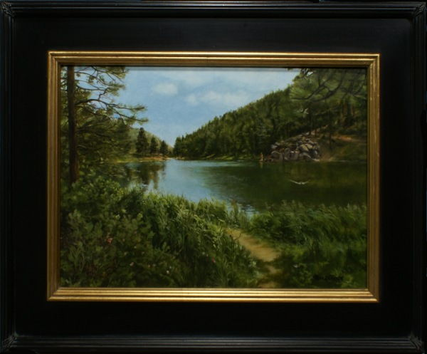 Click to view detail for Palmer Lake Reservoir 12x18 $920