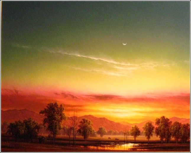 Click to view detail for Peace of Evening 16x20