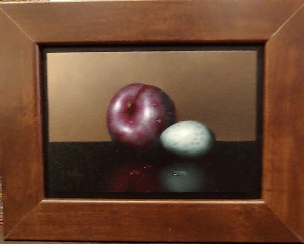 Click to view detail for Plum & Partridge Egg 4x6 $500