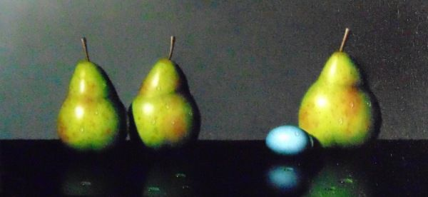 Click to view detail for Pears & Robin's Egg 6 X 12