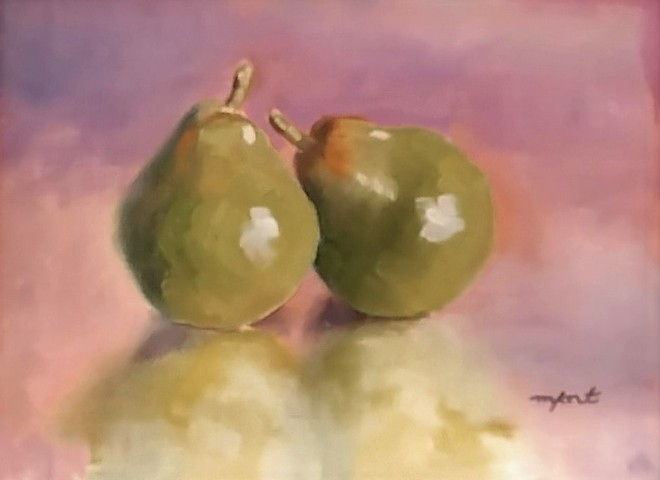 Click to view detail for Quite A Pear 6x8
