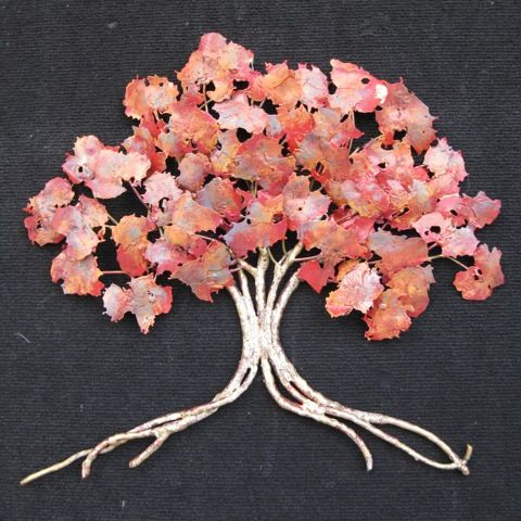 Click to view detail for RS-004 Red Oak Tree 16x18
