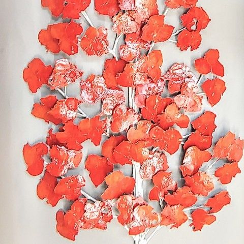 Click to view detail for RS-005 Red Tree 42x15
