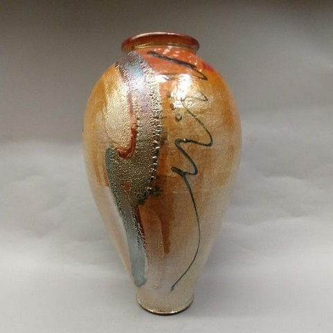 Click to view detail for Raku 3X Fired 16x8