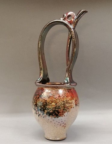Click to view detail for Raku Basket 17T
