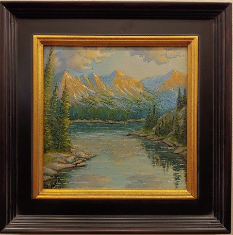 Click to view detail for Rocky Mountain National Park 8x8 $250