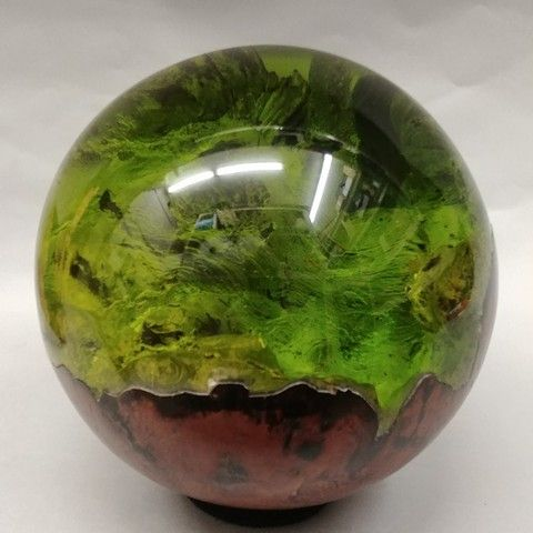 Click to view detail for SH009 Sphere 7 Green