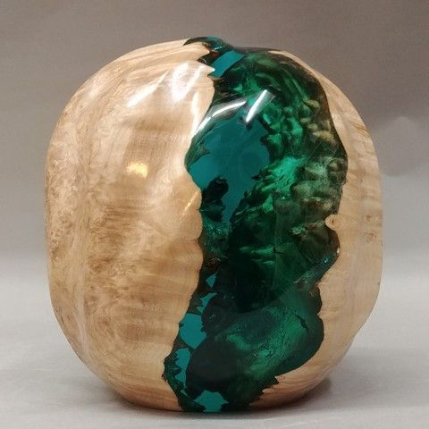 Click to view detail for SH026 Egg 5  Double-Capped Sea Green-Blue