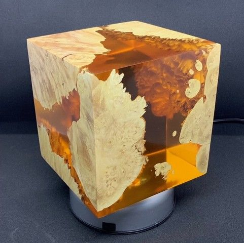 Click to view detail for SH034 Cube 5.5 - Amber