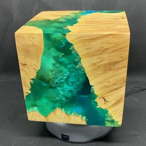 Click to view detail for SH035 Cube 5.5 - Aqua