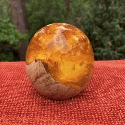 Click to view detail for SH044 Egg, Amber