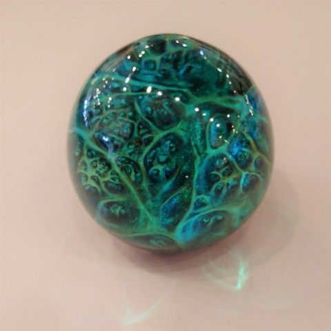 Click to view detail for SH070  Sphere - Green/Blue Alpine Nights